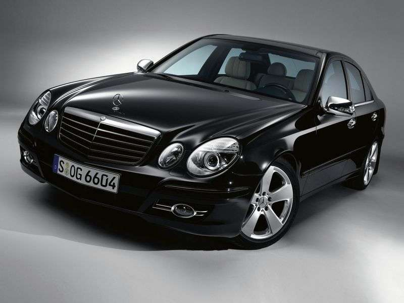 Mercedes Benz E Class W211 / S211 [restyling] 4 door sedan. E 200K MT (2006–2009)