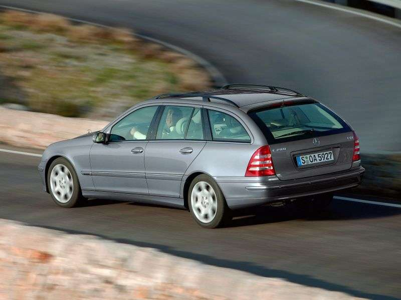 Mercedes Benz C Class W203 / S203 / CL203 [restyling] wagon 5 bit. C 270 CDI MT (2004–2004)