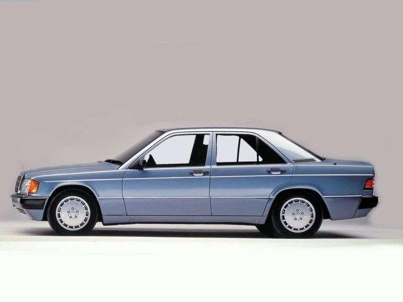 Mercedes Benz C Class W201sedan 2.5 MT (1989–1993)
