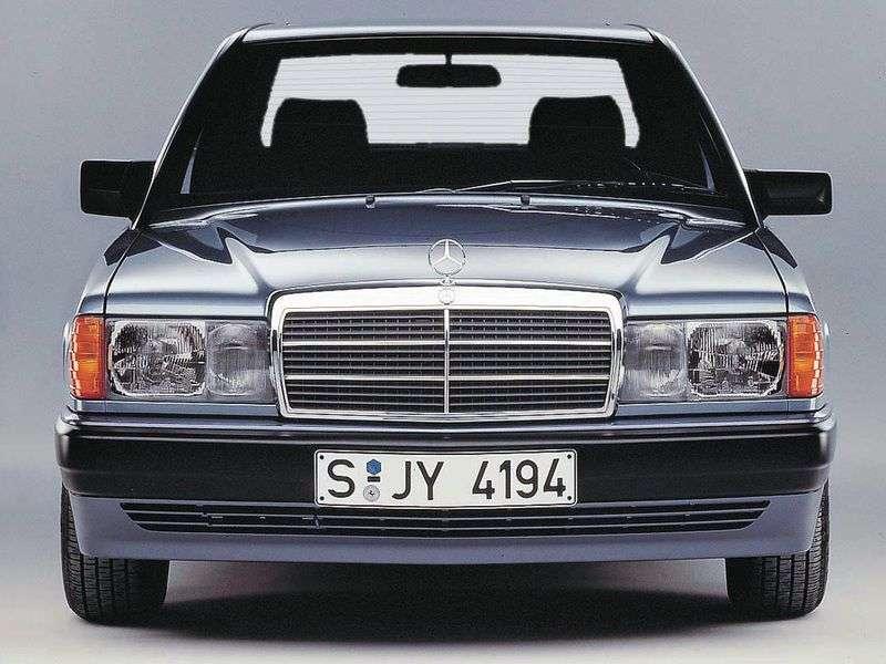 Mercedes Benz C Class W201sedan 2.6 MT (1986–1993)