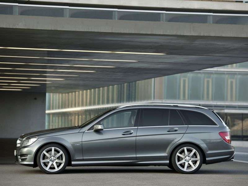 Mercedes Benz C Class W204 / S204 [restyling] wagon 5 bit. C 200 MT (2011 – n. In.)