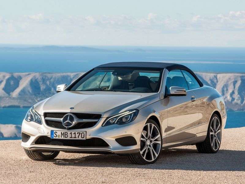 Mercedes Benz E Class W212 / S212 / C207 / A207 [restyling] E 250 7G Tronic Plus Convertible Special Series (2013 – N)