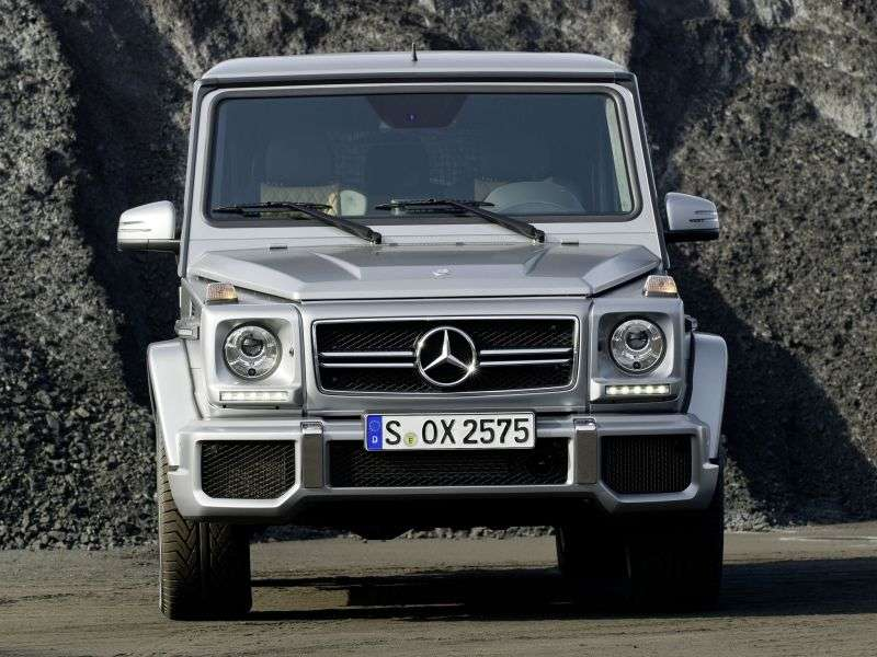 Mercedes Benz G Class W463 [2nd restyling] AMG SUV 5 bit. G 63 AMG Speedshift Plus 7G Tronic Basic (2012 – n.)