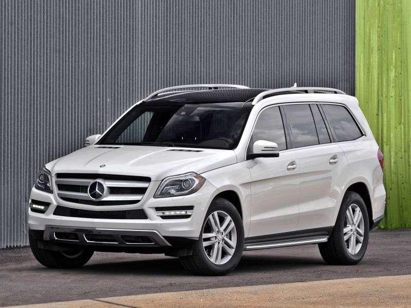 Mercedes Benz GL Class X166 SUV 5 bit. GL 350 CDI 4Matic 7G Tronic Plus Special Series (2012 – present)