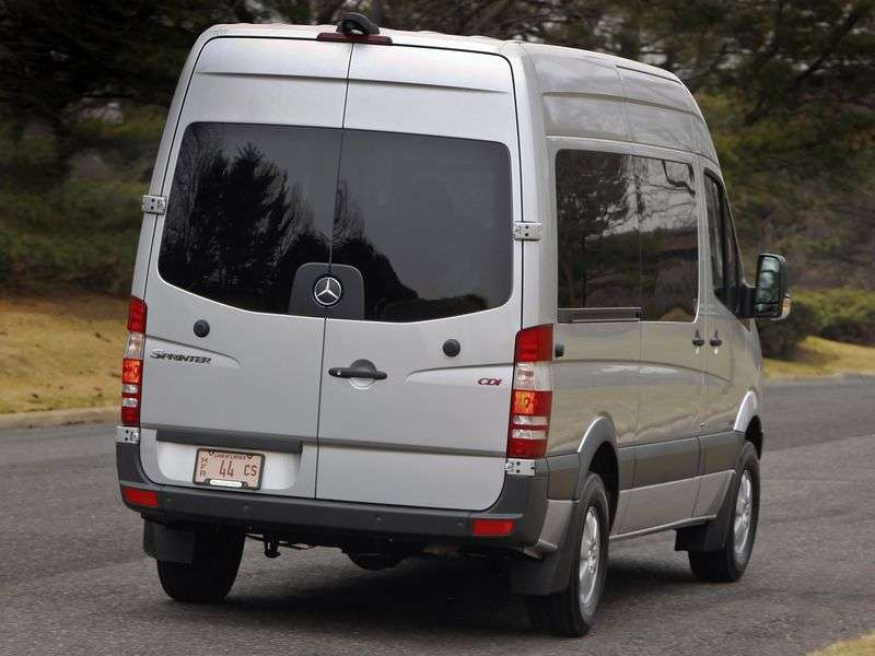 Mercedes Benz Sprinter W906 microbus 4 dv. 316 AT Standard Base Standard Roof Base (2006 – present)