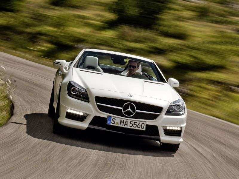 Mercedes Benz SLK Class R172AMG roadster 2 bit. SLK 55 AMG 7G Tronic Plus Basic (2012 – present)