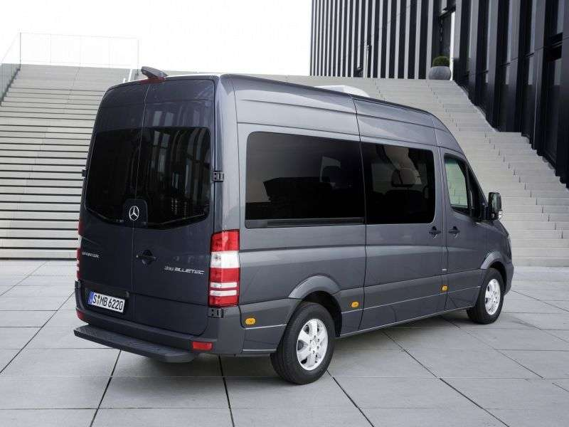 Mercedes Benz Sprinter W906 [restyling] Minibus 316 CDi MT L3H2 Basic (2013 – n.)