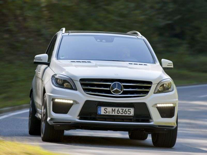 Mercedes Benz M Class W166AMG 5 bit crossover. ML 63 AMG Speedshift Plus 7G Tronic Special Series (2012 – present)