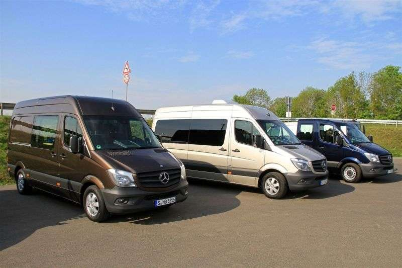 Mercedes Benz Sprinter W906 [restyling] Minibus 216 CDi MT L1H1 Basic (2013 – n.)