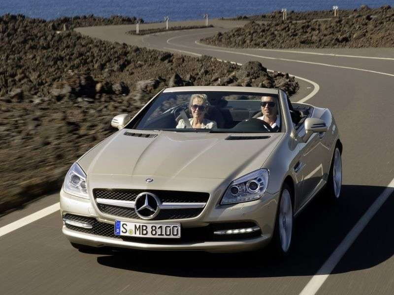 Mercedes Benz SLK Class R172rodster 2 bit. SLK 350 BlueEfficiency 7G Tronic Plus Basic (2011 – n. In.)
