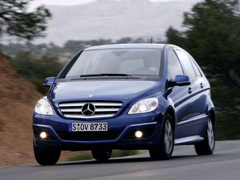 Mercedes Benz Klasa B W245 hatchback B 200 CVT Special Edition (2005–2011)
