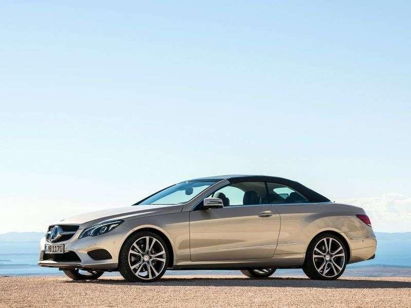 Mercedes Benz E Class W212 / S212 / C207 / A207 [restyling] cabrio E 300 7G Tronic Plus Special Series (2013 – present)
