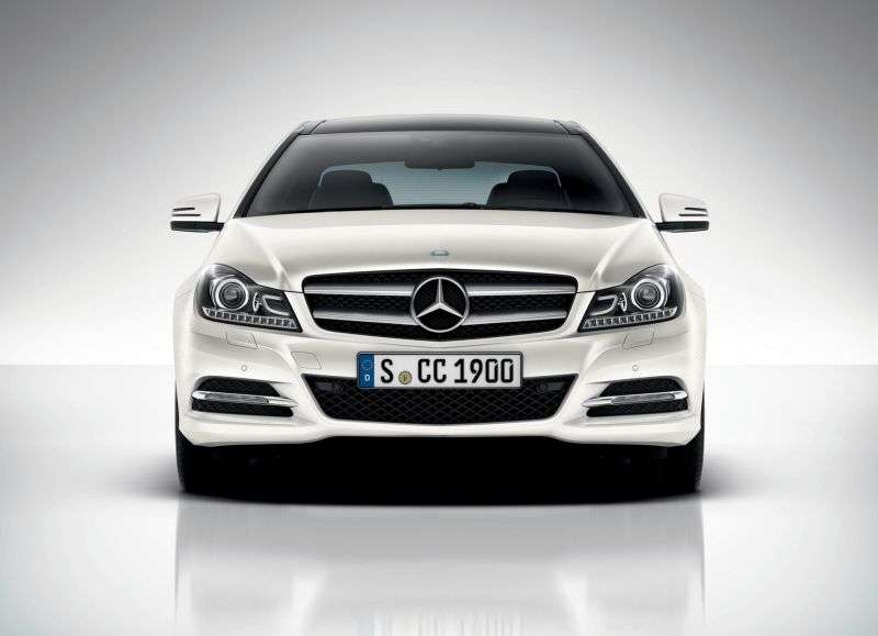 Mercedes Benz C Class W204 / S204 [restyling] coupe 2 bit. C 250 CDI 7G Tronic Plus (2011 – n. In.)