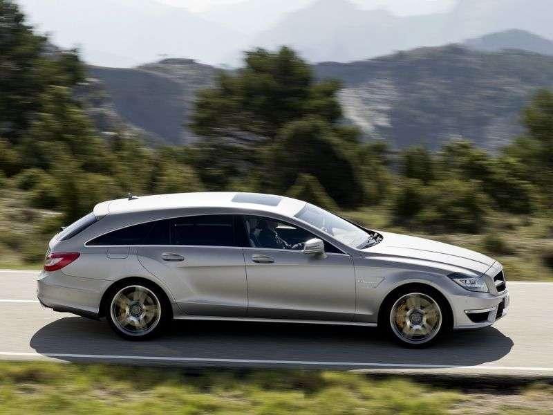 Mercedes Benz CLS Class C218 / X218 Shooting Brake AMG wagon 5 bit. CLS 63 AMG Speedshift MCT (2013 – current century)
