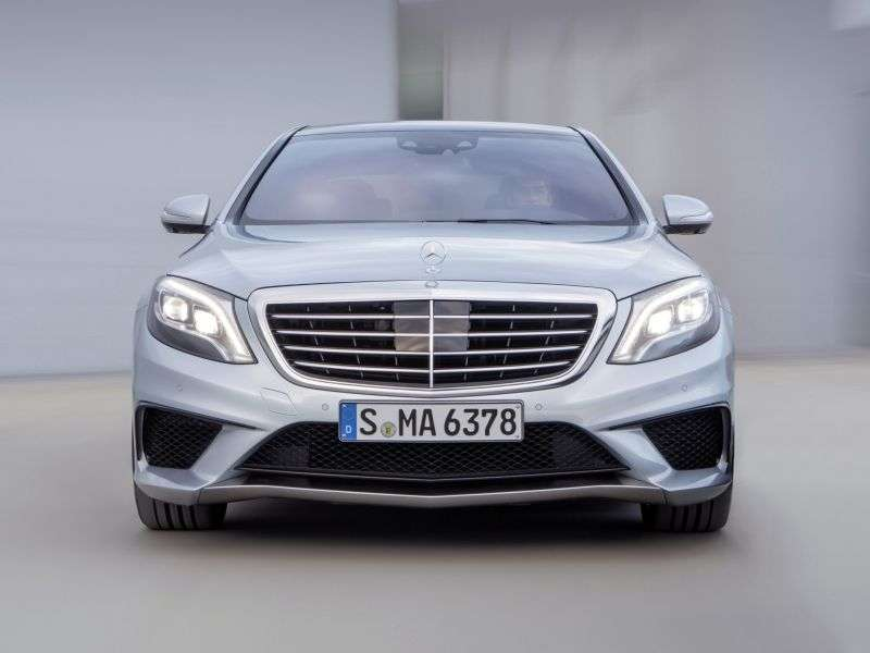 Mercedes Benz S Class W222AMG 4 doors sedan. S 63 AMG 4Matic SPEEDSHIFT MCT Long Base Base (2013 – present)