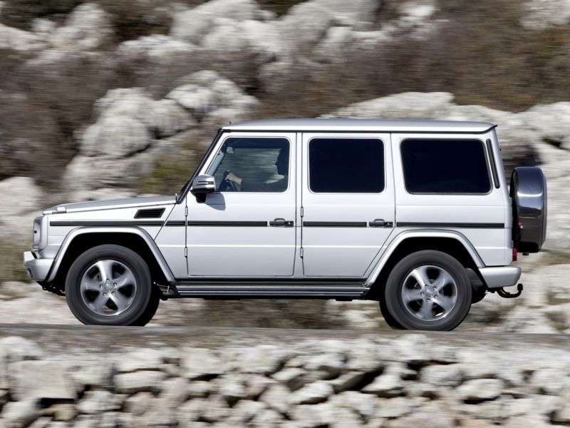 Mercedes Benz G Class W463 [2nd restyling] SUV 5 bit. G 350 BlueTEC 7G Tronic Plus Basic (2012 – present)