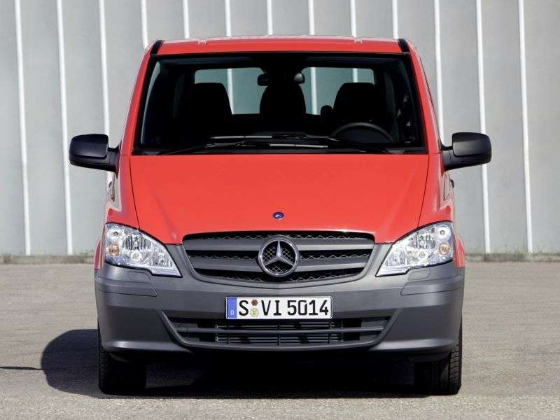 Mercedes Benz Vito W639 [restyling] minivan 4 dv. 126 AT Extended Baseline (2010 – current century)
