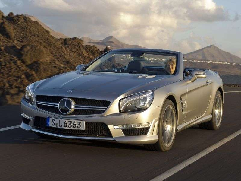 Mercedes Benz SL Class R231AMG roadster 2 dv. SL 63 AMG Speedshift MCT Basic (2011 – current century.)