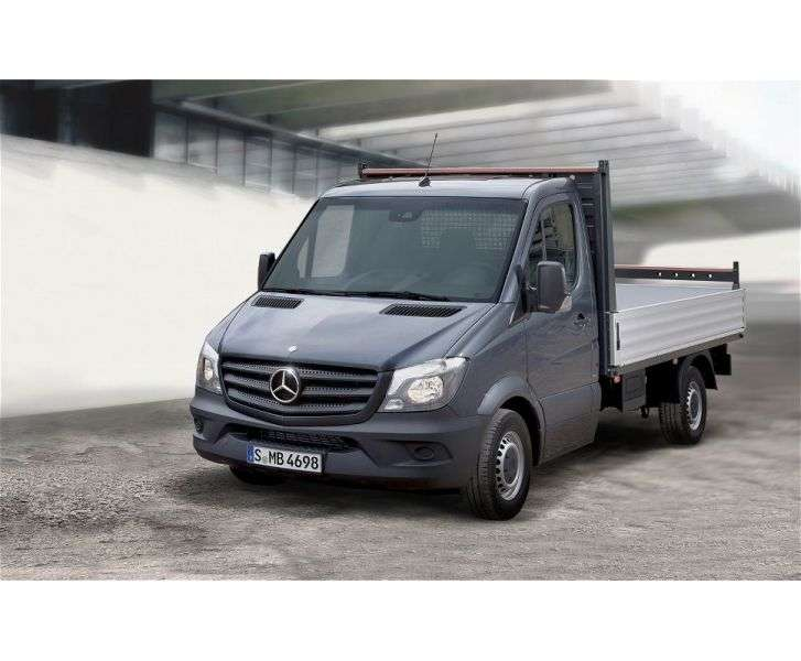 Mercedes Benz Sprinter W906 [restyling] board 2 bit. 516 MT standard base Base (2013 – present)