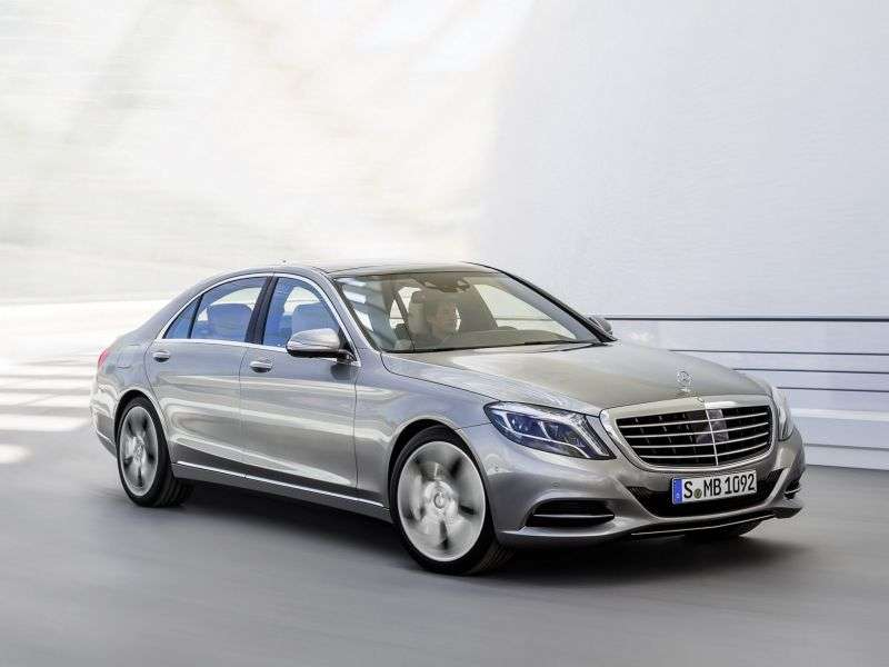 Mercedes Benz S Class W222sedan 4 bit. S 350 Blue TEC 7G Tronic Plus long base (2013 – v.)