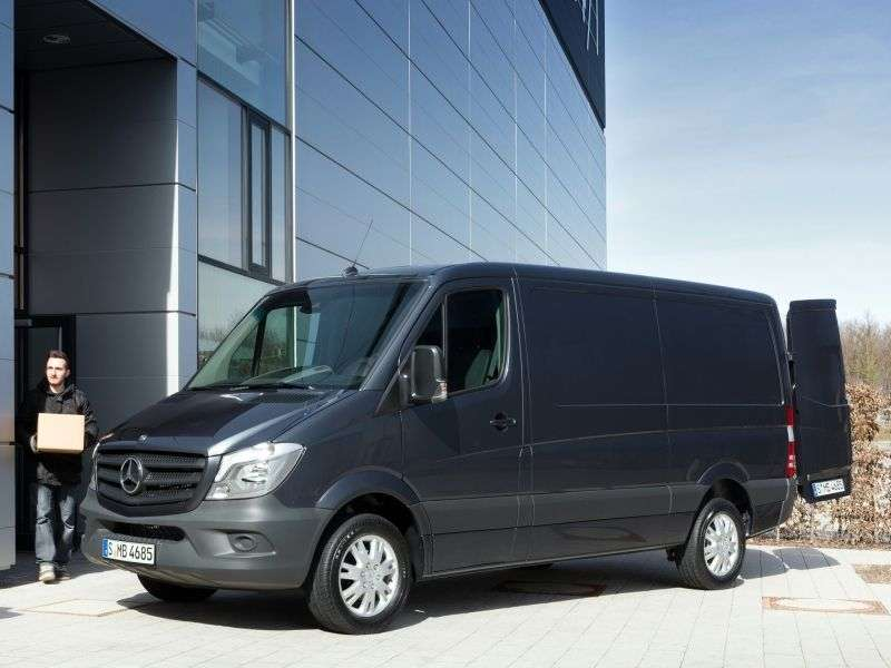 Mercedes Benz Sprinter W906 [restyling] van 313 CDi MT L1H1 Basic (2013 – n.)