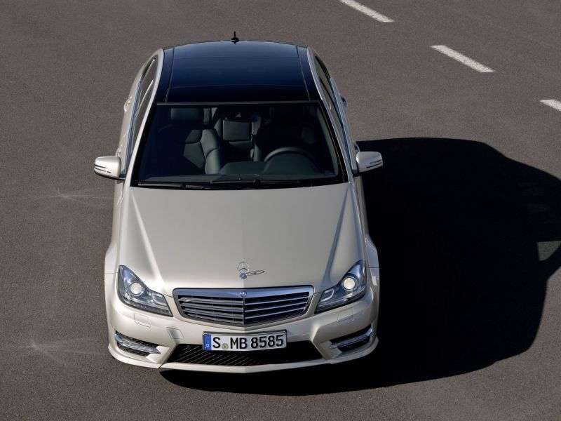 Mercedes Benz C Class W204 / S204 [restyling] 4 door sedan. C 220 CDI BlueEFFICIENCY Edition MT (2012 – n.)