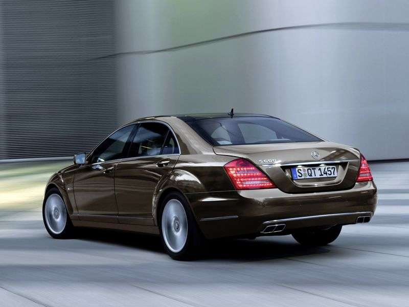 Mercedes Benz S Class W221 [restyling] 4 door sedan S 300 AT Long Base Base (2009–2013)