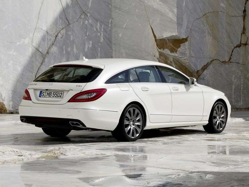 Mercedes Benz CLS Class C218 / X218 Shooting Brake 5 speed wagon. CLS 500 4Matic 7G Tronic Plus Basic (2012 – present)