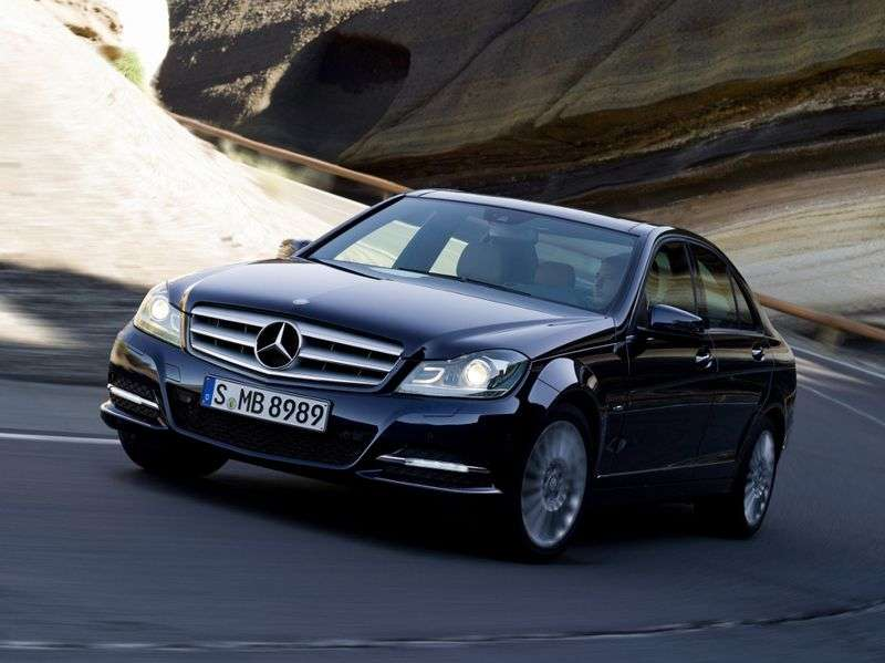 Mercedes Benz C Class W204 / S204 [restyling] 4 door sedan. C 220 CDI MT (2011 – present century.)