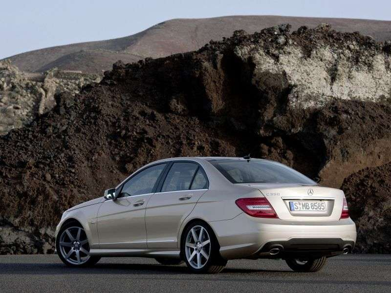 Mercedes Benz C Class W204 / S204 [restyling] 4 door sedan. C 350 7G Tronic Plus (2011 – current century.)