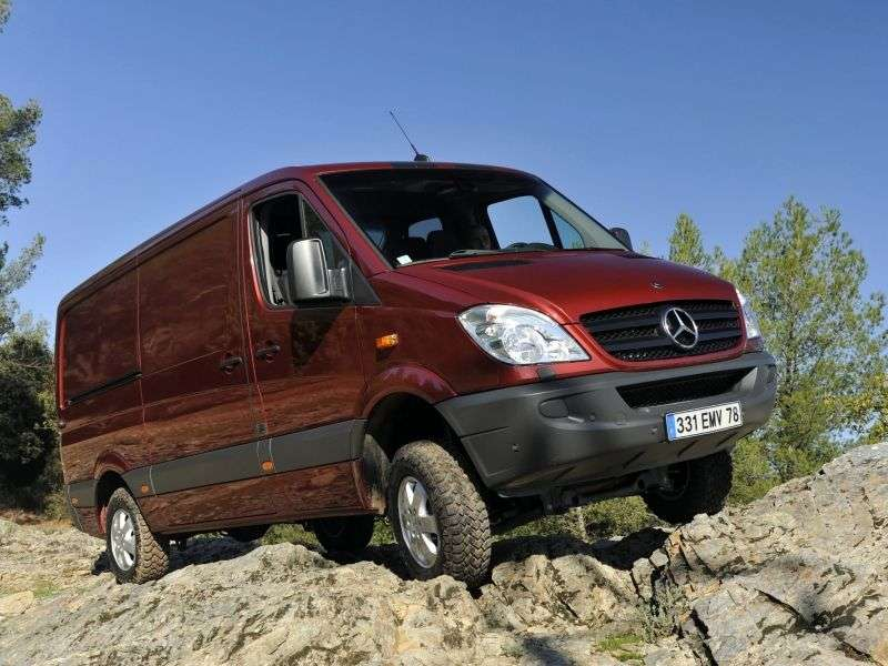 Mercedes Benz Sprinter W906 van 316 MT extra long base high roof Base (2006 – N)