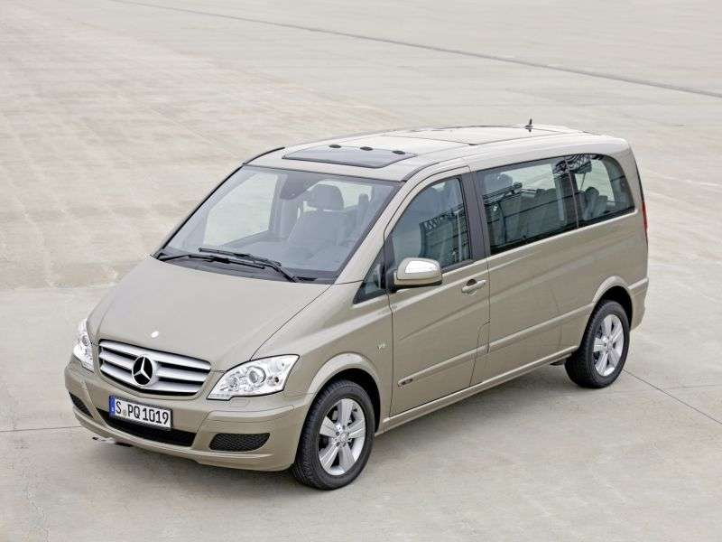 Mercedes Benz Viano W639 [restyling] 4 door minivan 2.0 CDi MT extended Avantgarde (2010 – n. In.)