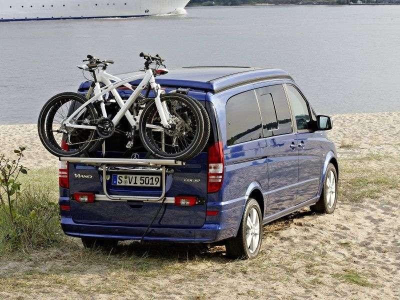 Mercedes Benz Viano W639 [restyled] FUN minivan 4 dv. 2.0 CDi MT Extended Baseline (2010 – n.)