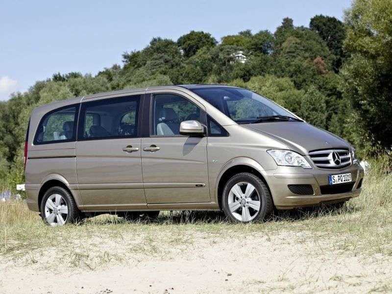 Mercedes Benz Viano W639 [restyling] 4 door minivan 2.2 CDi AT 4MATIC Super Long Ambiente (2010 – present)