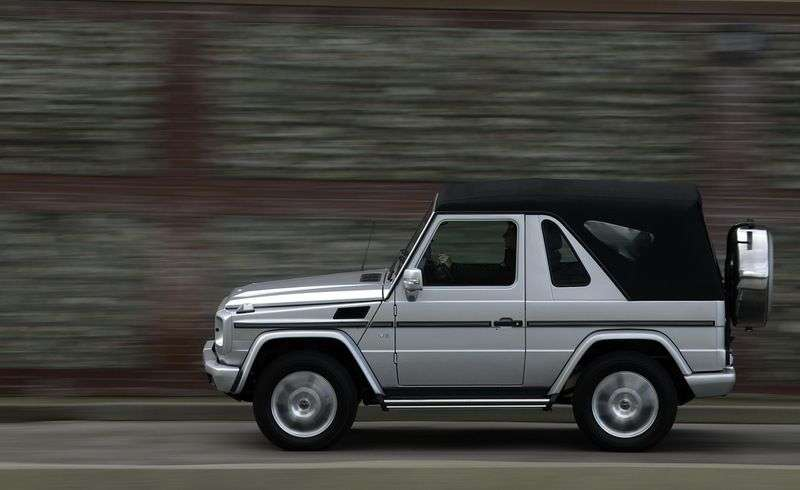 Mercedes Benz G Class W463 [restyling] convertible G 500 AT Basic (2008–2012)