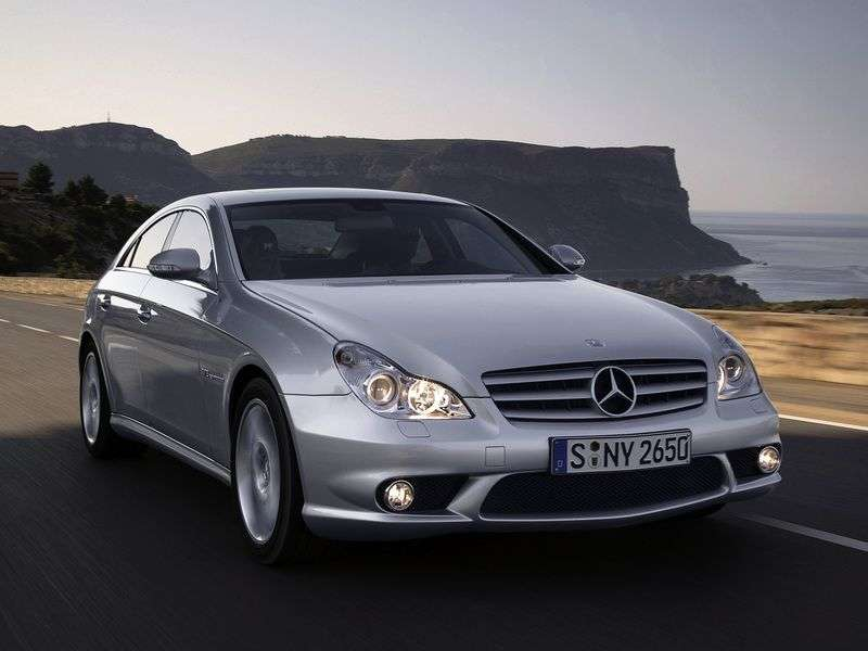 Mercedes Benz CLS Class C219 coupe 4 bit. CLS 350 AT Basic (2004–2010)