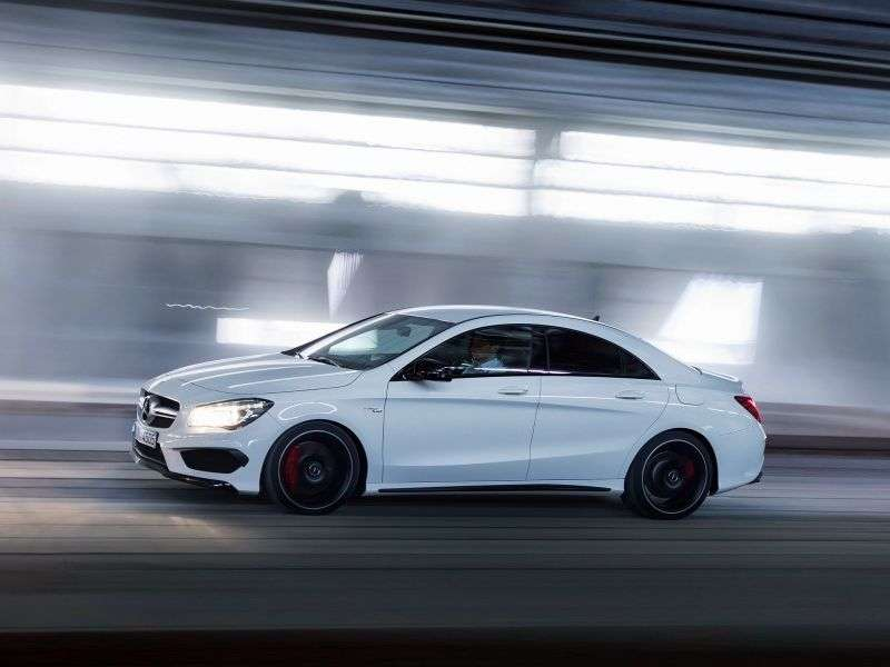 Mercedes Benz CLA Class 1st generation AMG coupe 4 bit. CLA 45 AMG 4Matic Speedshift DCT Special Series (2013 – present)