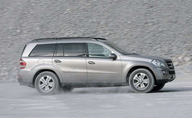 Mercedes Benz GL Class X164 SUV GL 420 CDI AT 4MATIC (2006–2009)