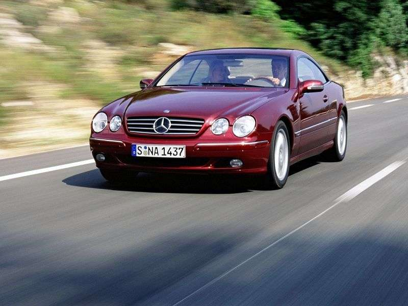 Mercedes Benz CL Class C215 Coupe CL 600 AT (2002–2006)