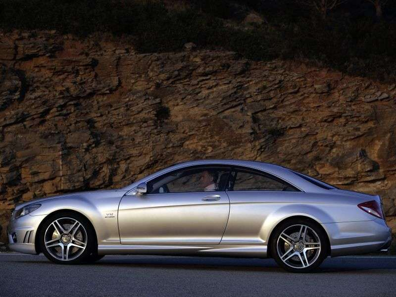 Mercedes Benz CL Class C216AMG coupe 2 bit. CL 63 AMG AT (2006–2010)