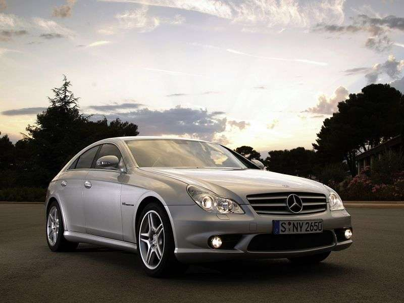 Mercedes Benz CLS Class C219AMG Coupe CLS 63 AMG AT Special Series (2006–2010)