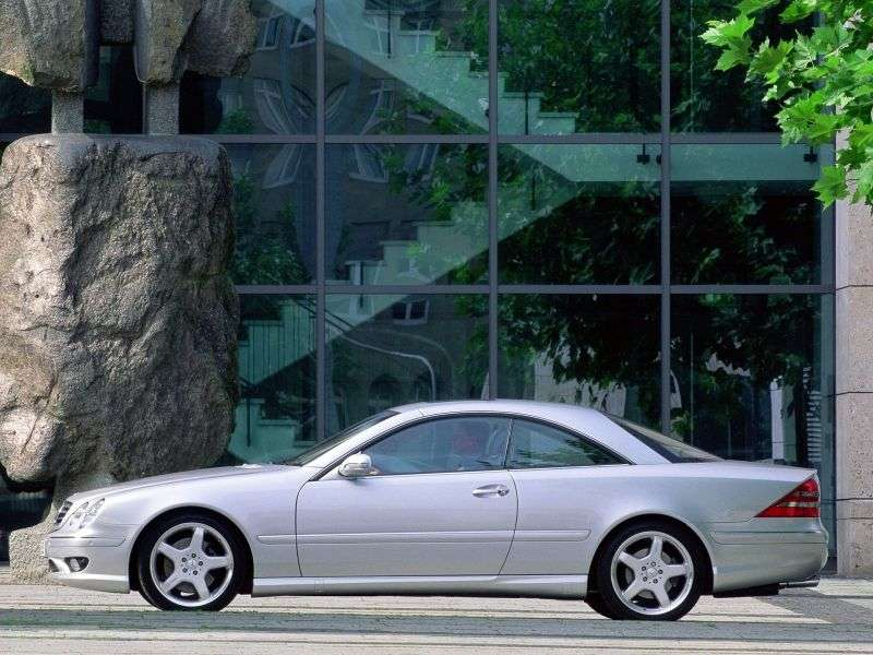 Mercedes Benz CL Class C215AMG coupe 2 bit. CL 65 AMG AT (2003–2006)