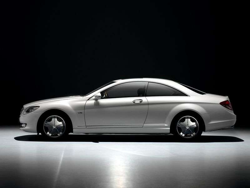 Mercedes Benz CL Class C216 Coupe CL 600 AT (2006–2010)
