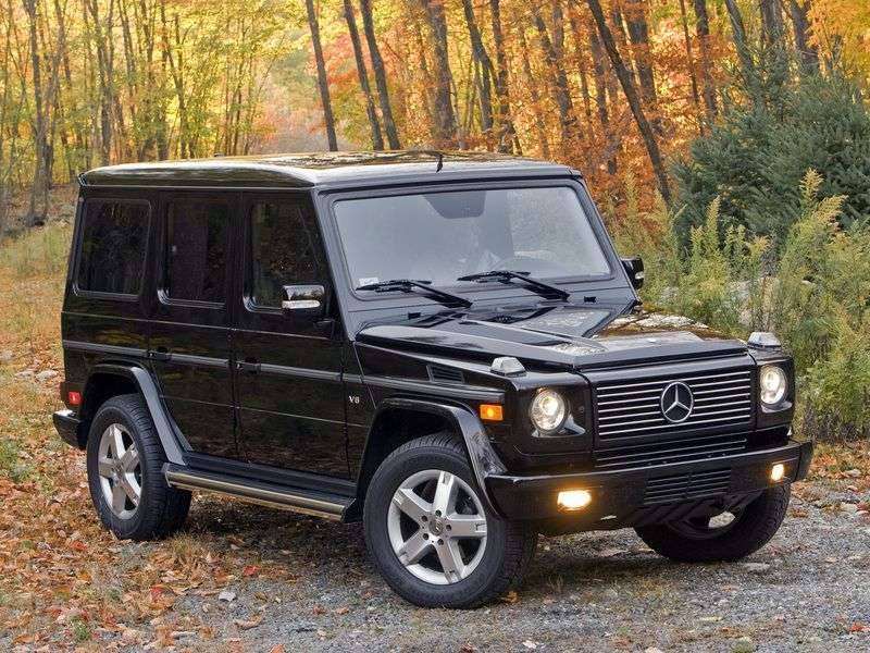 Mercedes Benz G Class W463 5 door SUV. G 320 CDI AT (2000–2008)