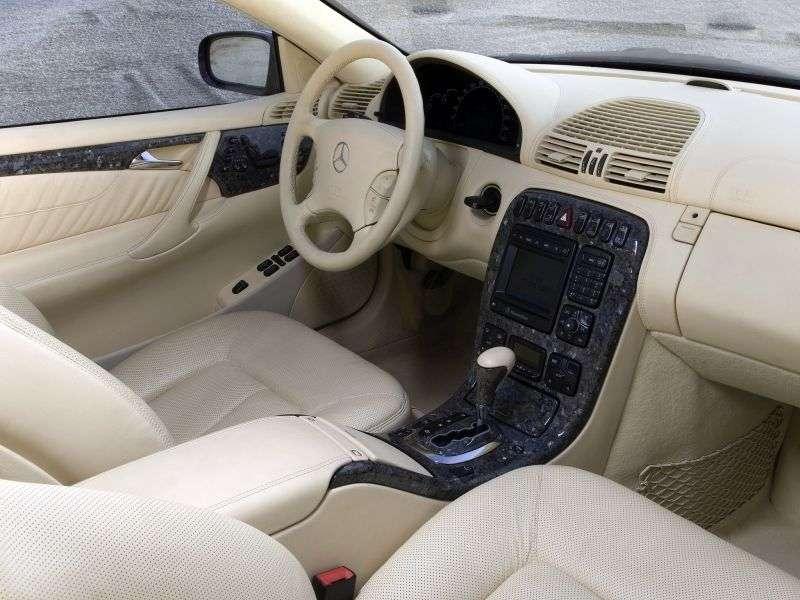 Mercedes Benz CL Class C215 Coupe CL 500 AT (2002–2006)