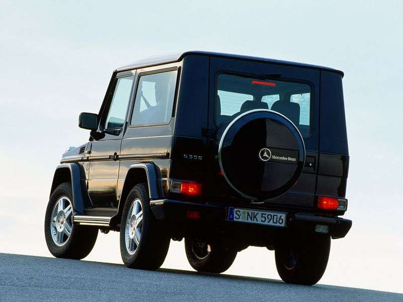 Mercedes Benz G Class W463 3 bit SUV. G 500 AT (2000–2008)