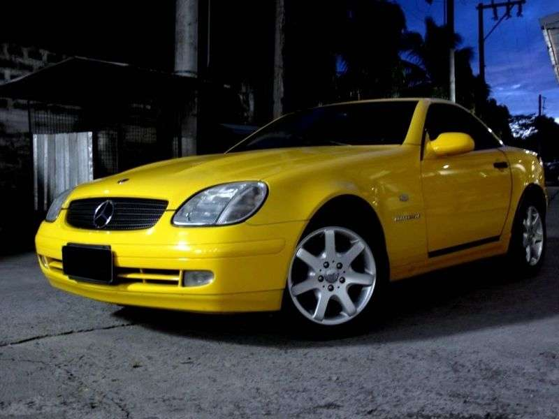 Mercedes Benz SLK Class R170Rodster SLK 230 MT (1998–2000)