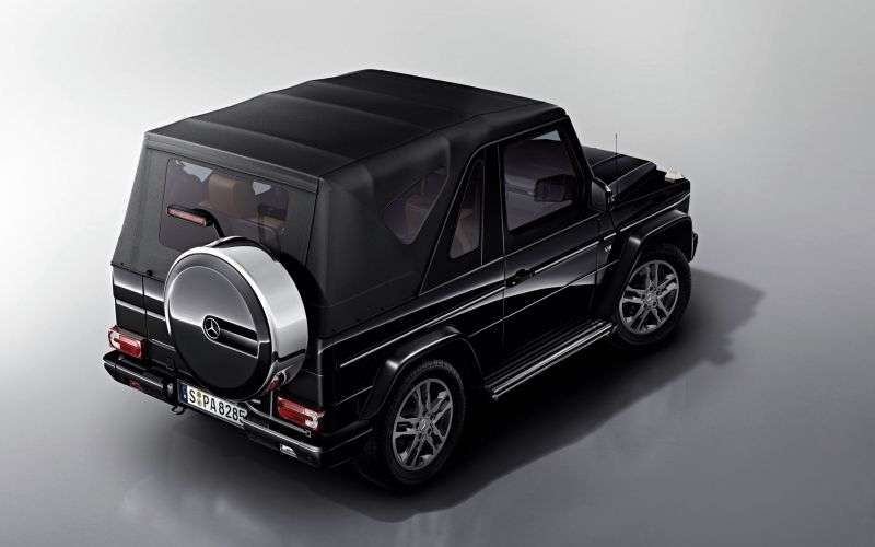 Mercedes Benz G Class W463 [2nd restyling] G 500 7G Tronic Plus convertible (2012–2013)