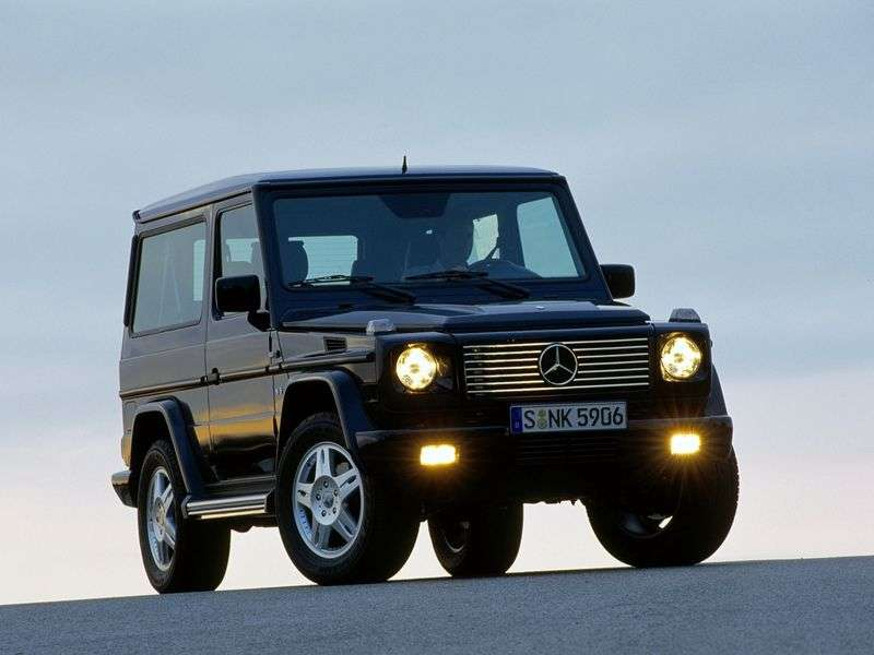 Mercedes Benz G Class W463 3 bit SUV. G 320 CDI AT (2000–2008)