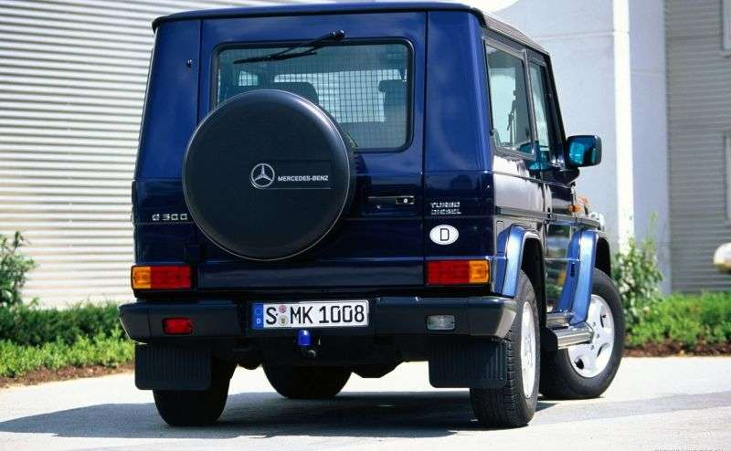 Mercedes Benz G Class W463 [restyling] SUV 3 dv. G 500 AT (2008–2012)